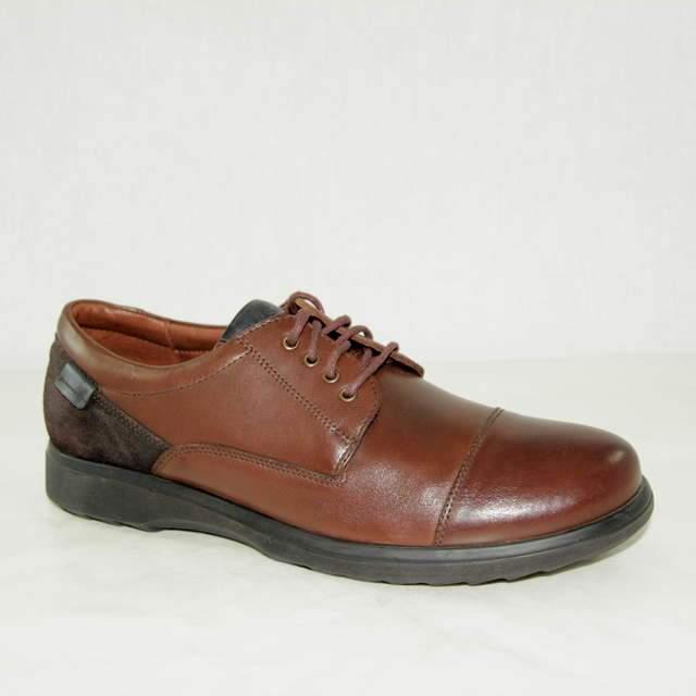 c13128770 Туфли мужские 4960-3-1 кожа - кожа коричневые