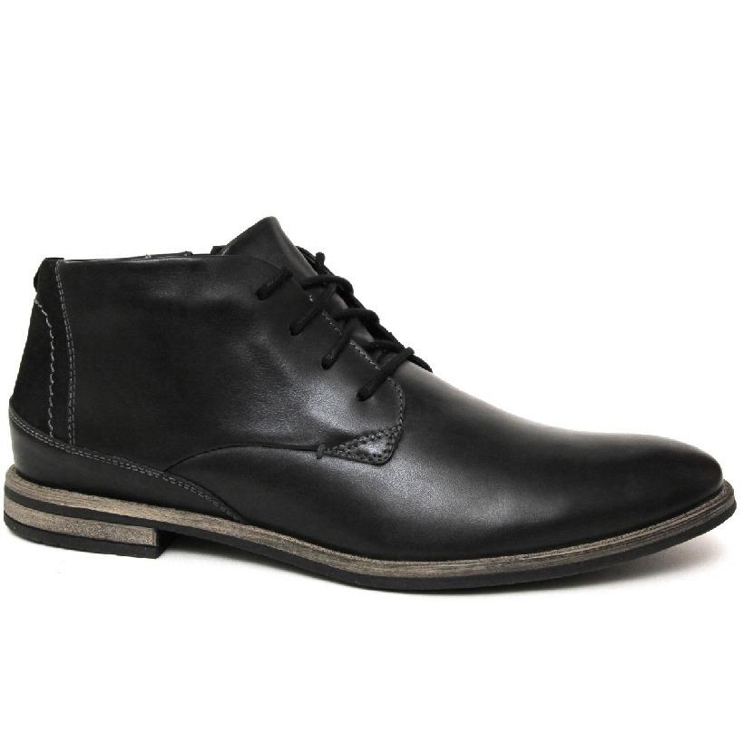 5636c3a272f9 Мужские ботинки Badura 5202-372 кожа-байка чёрные