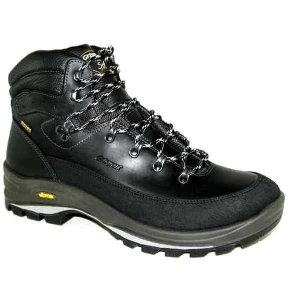 52ed79b49 Ботинки высокие grisport 12801-19 кожа-мембрана чёрные
